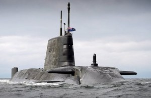 Artful enters HMNB Clyde