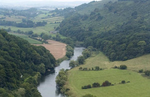 View of the River Wye from Yat Rock