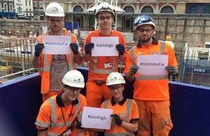 Crossrail apprentices
