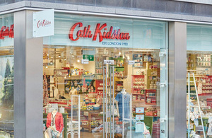 Cath Kidston store front