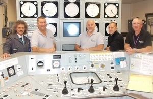 The Oldbury team has emptied the first reactor of all fuel