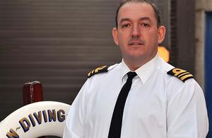 Lieutenant Commander Kevin Stockton (stock image)