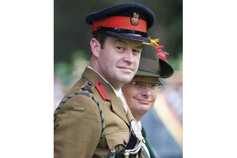 Brigadier Patrick Sanders