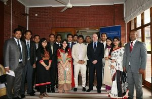 British High Commissioner congratulates potential future leaders of Bangladesh