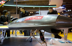 BAE Systems' exhibit at BIS Big Bang Fair 2012