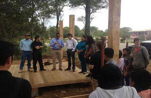 Visit to ICS Honduras