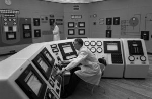 Dounreay's Fast Reactor control room in 1959