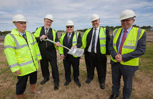 Nuclear archive turf cutting event