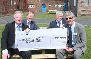 £300,000 award presented from the Magnox Socio-Economic Scheme