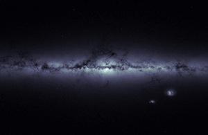 Stellar density map