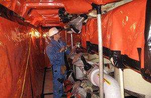 Chapelcross asbestos project