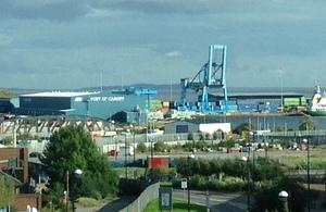 Port of Cardiff