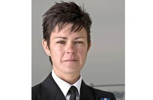 Lieutenant Commander Mandy McBain