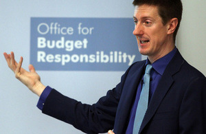 Office for Budget Responsibility (OBR) chairman Robert Chote