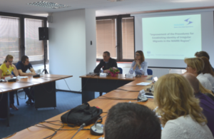 Regional efforts for identifying migrants in the Western Balkans