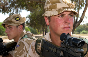 Privates Liam and James Horgan of 2nd Battalion The Princess of Wales's Royal Regiment