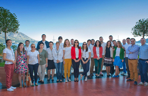 Chevening alumni from Montenegro and other Western Balkan countries [Copyright: MAUK]