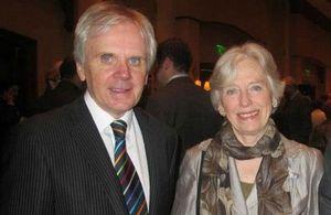 Baroness Gloria Hooper and Ambassador Patrick Mullee