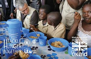 World Food Programme Tackle Hunger image