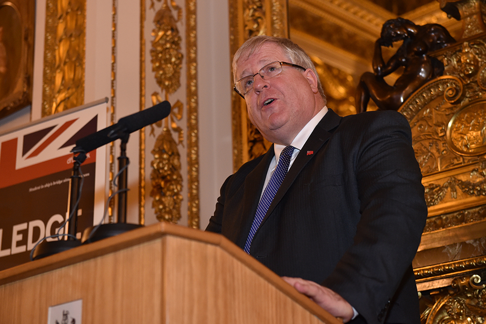 Patrick McLoughlin at Lancaster House