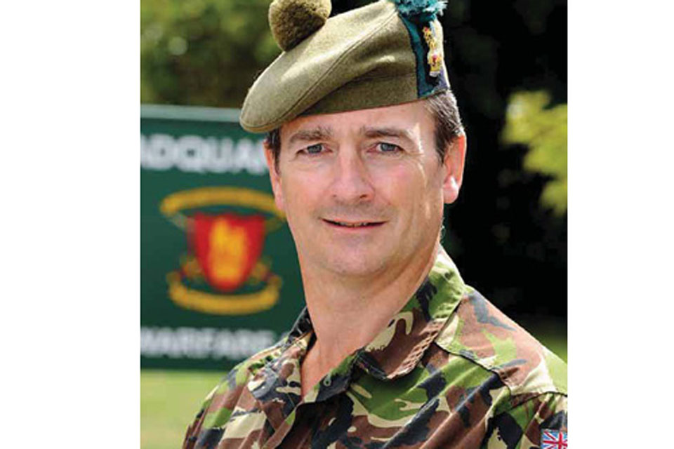 Colonel David Richmond is part of a committee of experts looking at compensation for injured soldiers