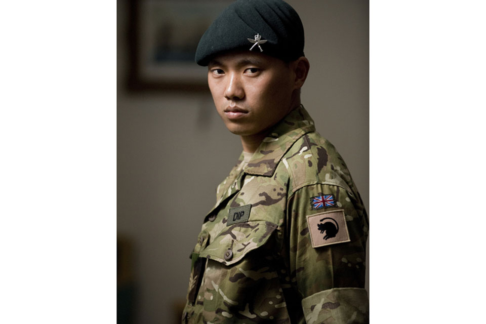 Acting Sergeant Dipprasad Pun, 1st Battalion The Royal Gurkha Rifles