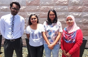 Maldives Chevening Scholars who will be going to UK for 2015/2016 academic year