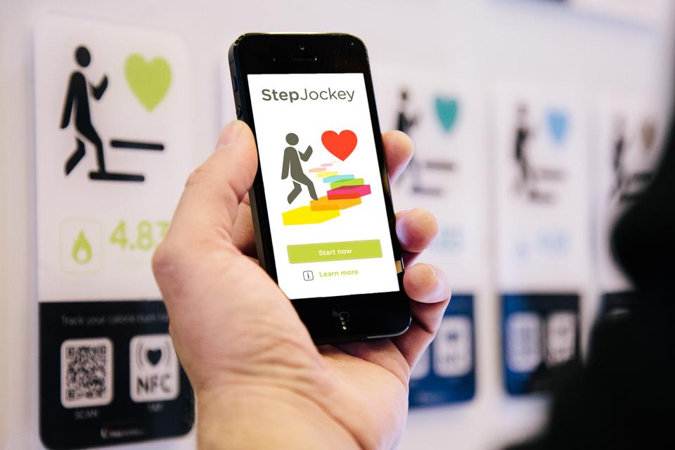 StepJockey app