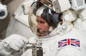 UK ESA astronaut Tim Peake