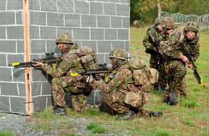 Rifles reservists