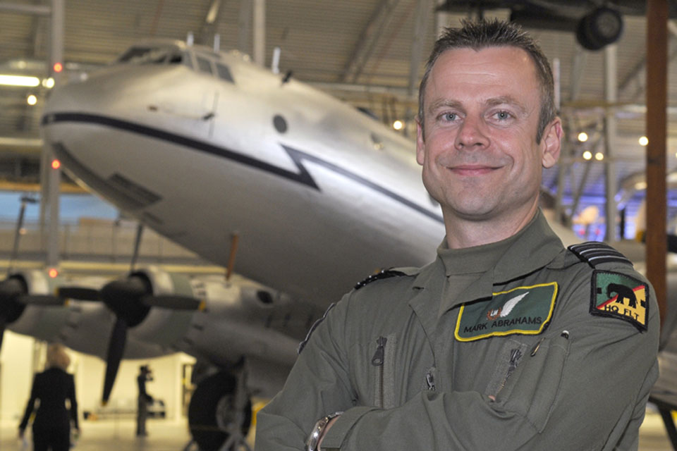 Wing Commander Mark Abrahams
