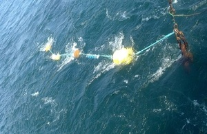Deployment of a subsea noise recorder