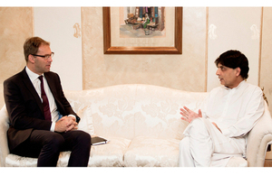 Meeting with Ch. Nisar
