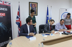 "British Embassy supports ""After Care"" survey on Foreign Direct Investments in Kosovo"