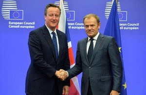 PM with Donald Tusk