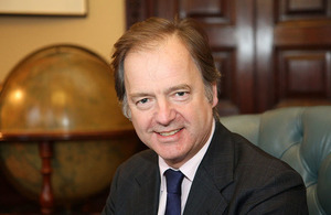 Minister of State for the Americas, Hugo Swire
