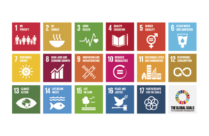 Global goals graphic