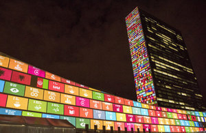 Britain has backed the Global Goals agreed at the UN. Picture: UN Photo