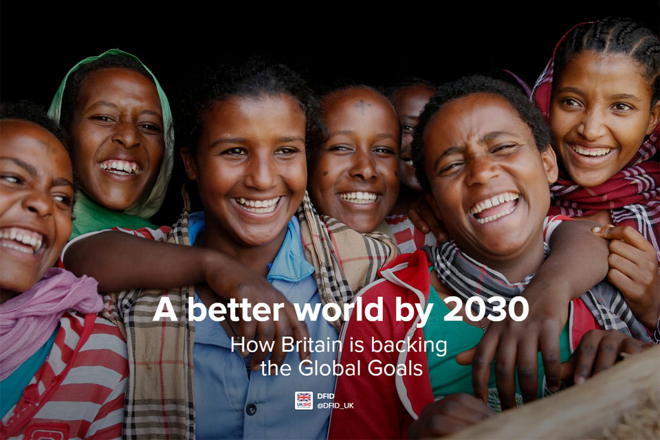 A better world by 2030 - interactive