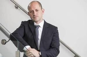 LightPoint chief executive David Tuch on stairway