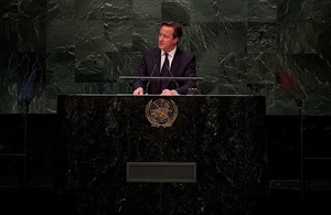 Prime Minister speaks at UN General Assembly
