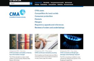 CMA's homepage