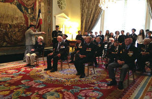 British veterans at the service today