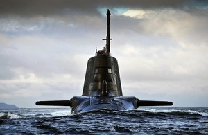 Picture of Astute submarine