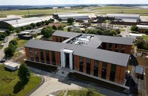 The main training building at MOD Lyneham. Photo: Hercules. All rights reserved