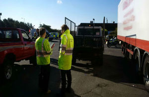 A multi-agency operation has seen the Environment Agency crack down on illegal waste carriers in Lincolnshire.