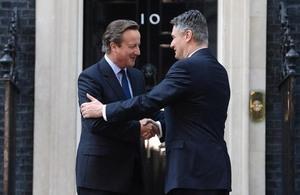 David Cameron meets Croatian Prime Minister
