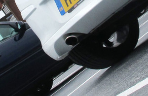 Image of a car exhaust