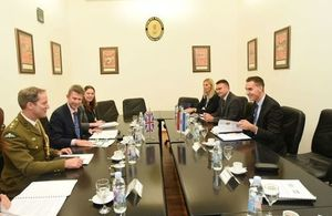 Nick Gurr, United Kingdom Ministry of Defence (MOD) Director for International Security Policy, visits Croatia.