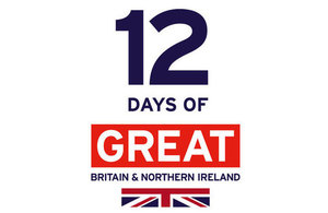12 Days of GREAT Britain and Northern Ireland logo